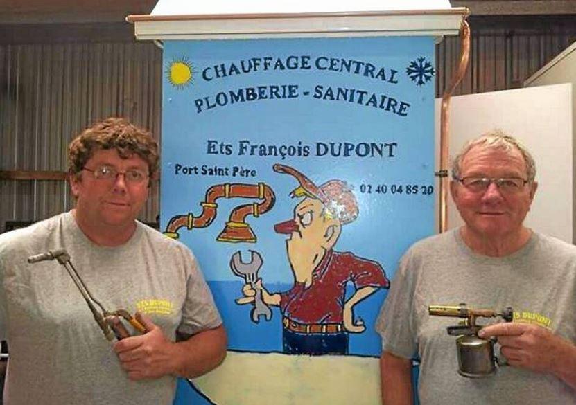 Dupont pere et fils pays de la loire port saint pere plombier sanitaire